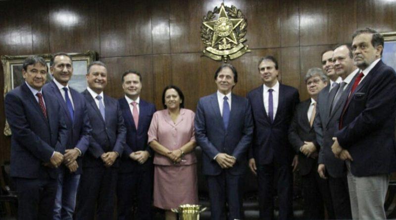 Em Brasília, João Azevêdo se reúne com presidentes da Câmara e do Senado
