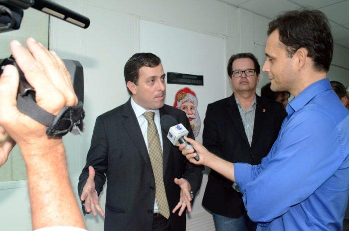 Gervásio inaugura novas instalações da TV Assembleia e anuncia expansão do sinal