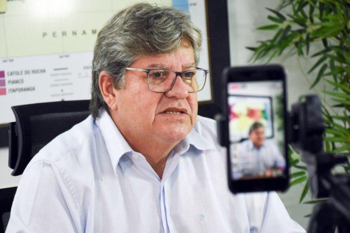 Live confirmada! João Azevêdo anuncia novos secretários na manhã desta sexta-feira