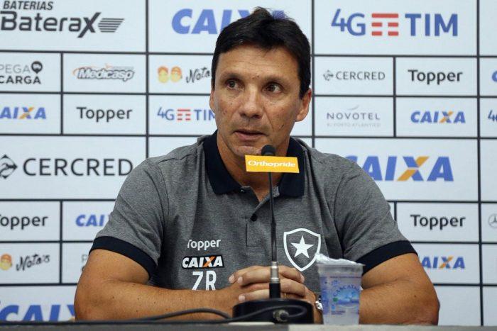 Técnico do Botafogo-RJ prevê jogo tenso contra o Campinense pela Copa do Brasil, nesta 4ª