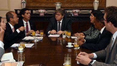 João apresenta potencial econômico da PB ao embaixador da Tailândia