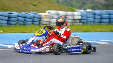 Piloto comemora o segundo pódio consecutivo no Paraibano de kart