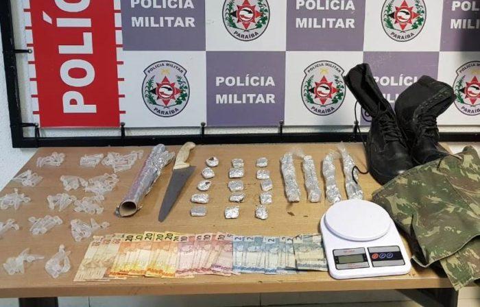 PM prende suspeito de participar do assalto a clube de tiros no Bessa