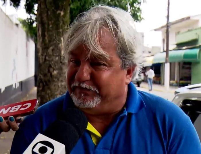 Tio de um dos assassinos de escola chora e pede perdão às famílias das vítimas