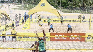 Etapa JP do Circuito Brasileiro de Vôlei de Praia entra na fase de grupos