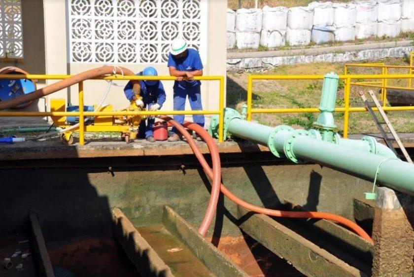 Manutenção de urgência interrompe fornecimento d'água em JP, Cabedelo e Conde