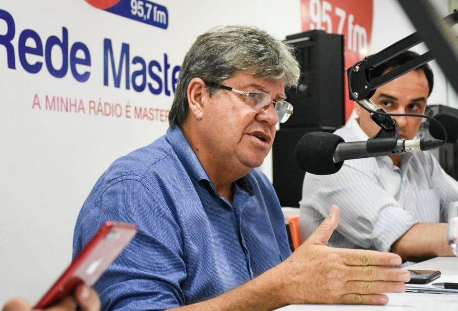 João sugere que Governo Federal'sonega' recursos: