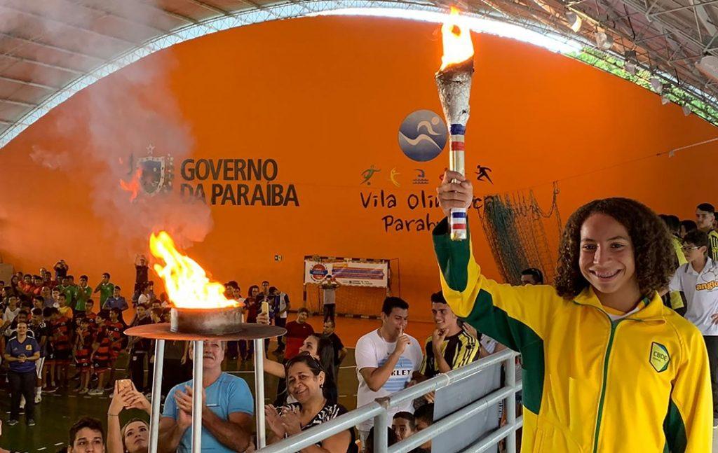 Governo abre Jogos Escolares da Paraíba com homenagem a Gabriel Diniz