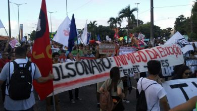 Paraíba registra atos contra o corte de verbas do MEC em nove cidades