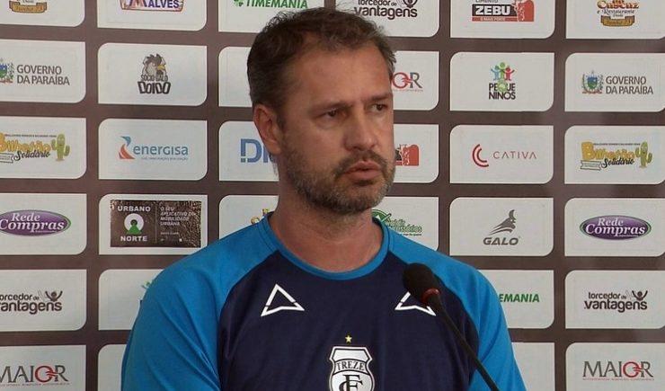 Com demissão de Flávio Araújo, Treze efetiva auxiliar como novo técnico