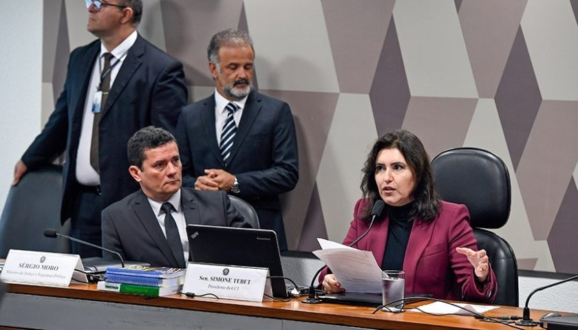 Assista ao vivo: Moro é ouvido na CCJ do Senado sobre troca de mensagens com Dallagnol