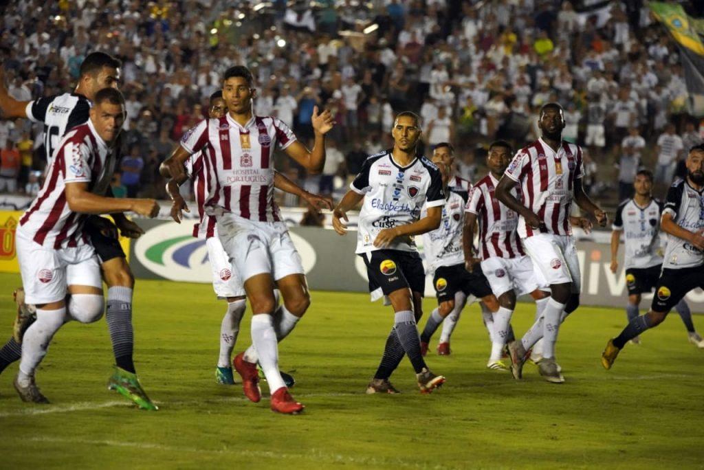 Botafogo-PB quer vencer o Náutico nesta 4ª feira para 'colar' no líder