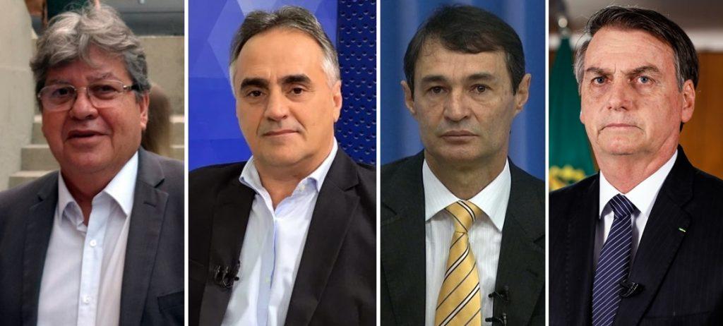 Arapuan divulga pesquisa sobre os governos João, Cartaxo, Romero e Bolsonaro