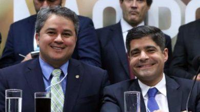 Efraim Filho e ACM Neto filiam cinco prefeitos ao Democratas neste sábado