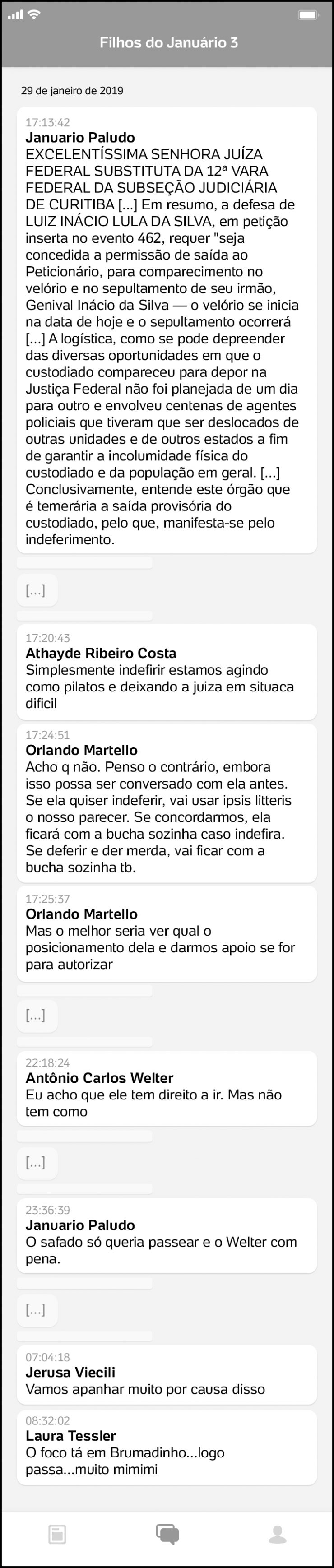 Procuradores da Lava Jato debocharam da morte da esposa e do neto de Lula
