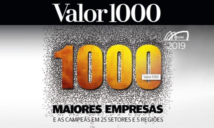 Jornal Valor Econômico elenca Cagepa entre as maiores empresas do país