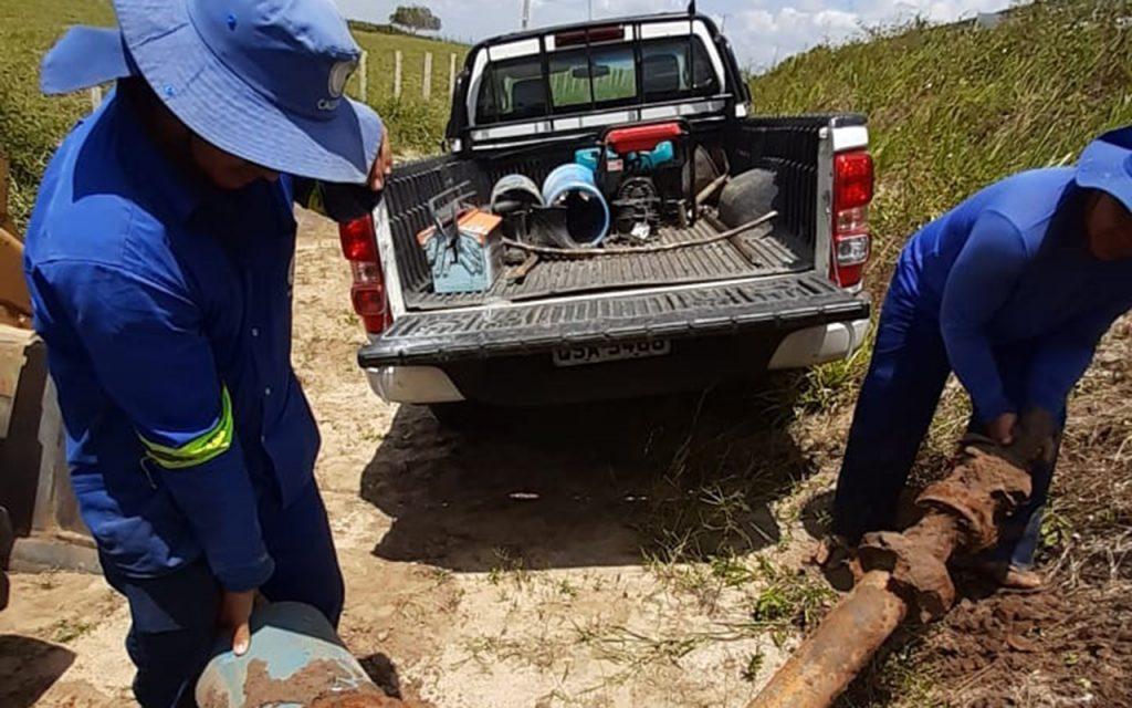 Operação da Cagepa flagra quatro desvios de água em Pilar e Itabaiana