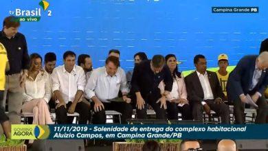 Acompanhe ao vivo: Bolsonaro entrega obra iniciada por Dilma em Campina Grande