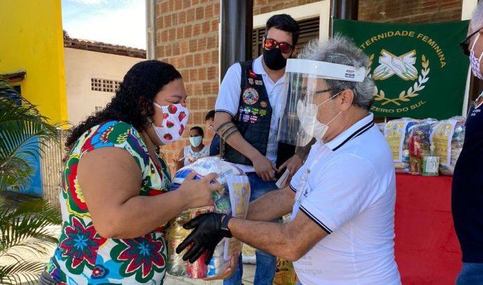 Covid-19: Loja Maçônica Estrela D'alva faz ação solidária em Lucena