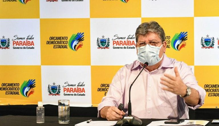 João anuncia folhas de pagamentos dos servidores da PB no valor de R$ 1,3 bilhão