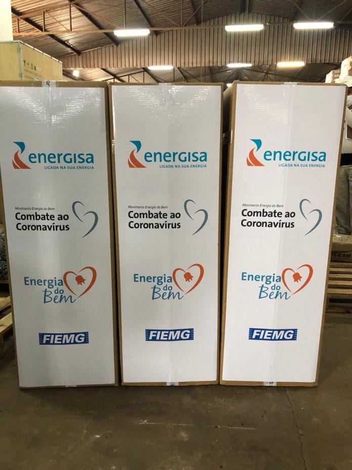 Energisa doa ventiladores pulmonares para tratamento da Covid-19 na Paraíba