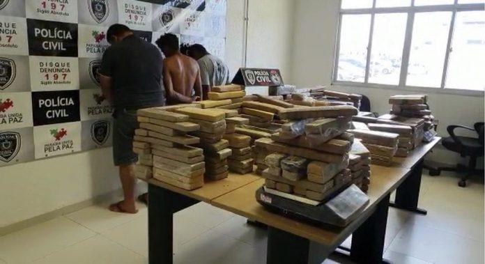 Polícia Civil efetua a maior apreensão de drogas do ano, na Paraíba