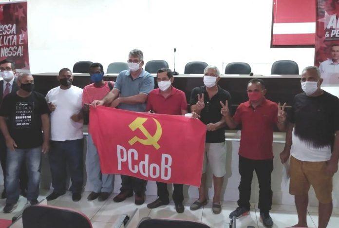 Anísio e Percival reúnem candidatos à CMJP do PCdoB para traçar estratégias