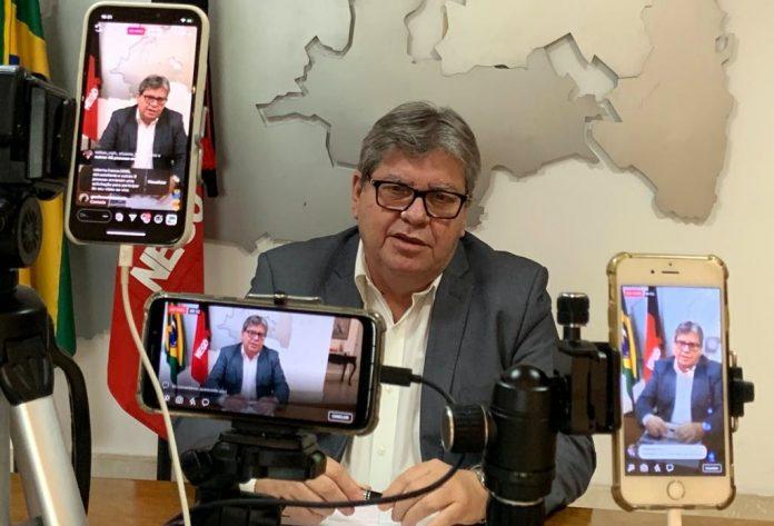Assita ao vivo: João Azevêdo discursa na abertura dos trabalhos da ALPB