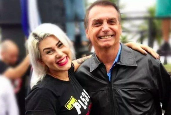 Sara Winter se diz decepcionada com Bolsonaro e desabafa nas redes sociais