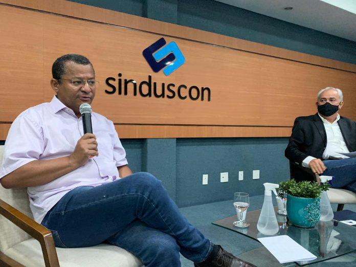 Em sabatina no Sinduscon-JP, Nilvan expõe propostas para construção civil